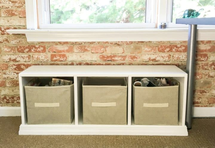 How to turn a cubby into a window seat