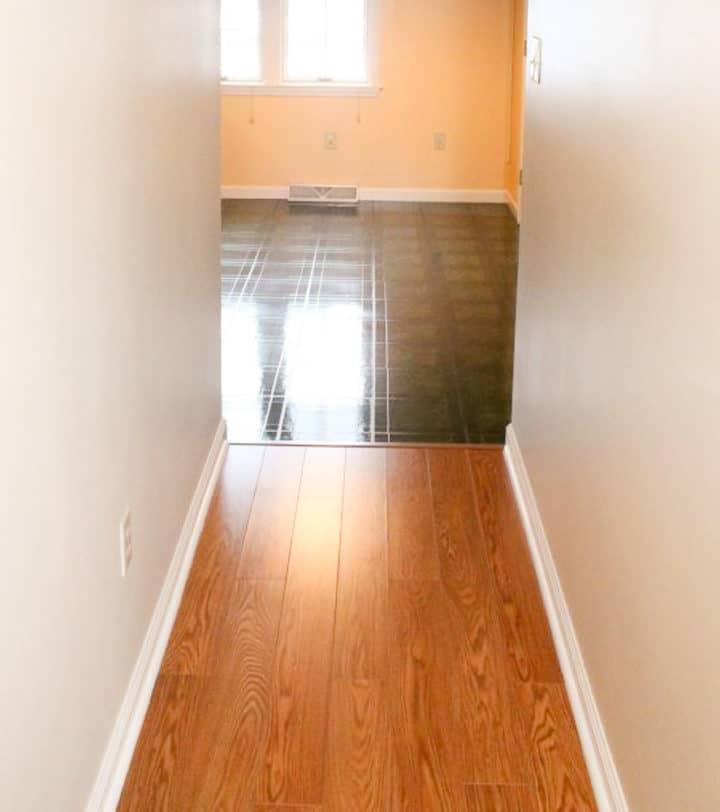 Original hallway floor
