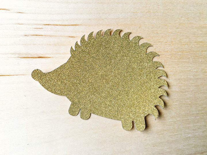 gold hedgehog
