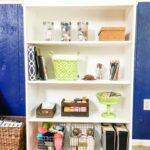 how to add moulding to a laminate bookcase so it looks custom