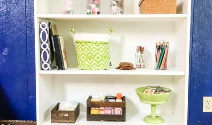How to Make a Laminate Bookshelf Look Custom
