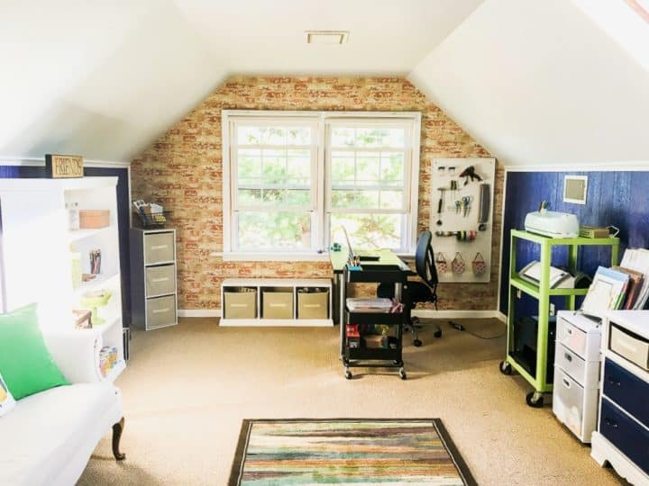 office craft room makeover