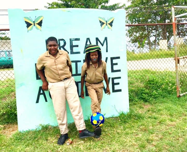 Beaches Jamaica local students