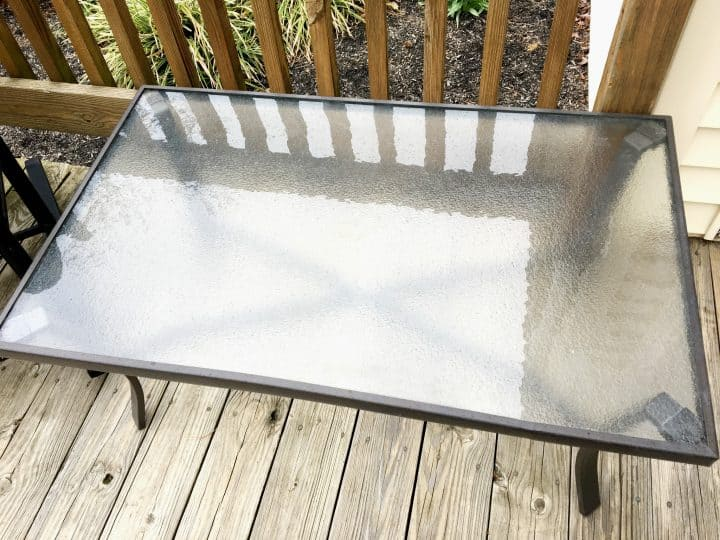 Cleaning Patio Furniture with no chemicals