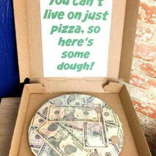 Fun money graduation gift