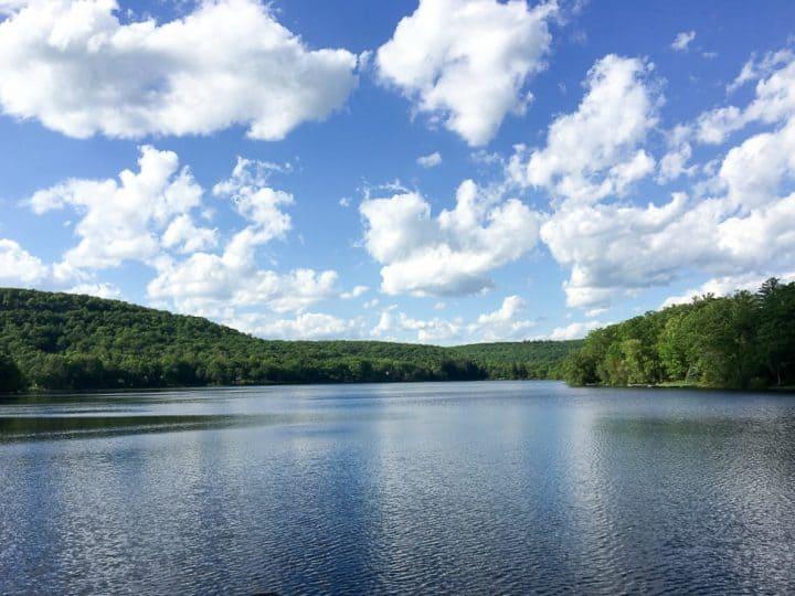 Lake Wallenpaupack in the Poconos
