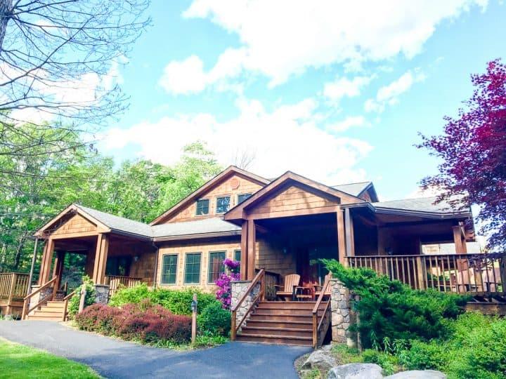 Skytop Lodge in Poconos Stream Side Cottages