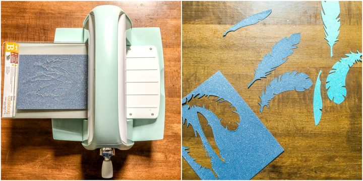 how to use the cricut cuttlebug to make diecuts