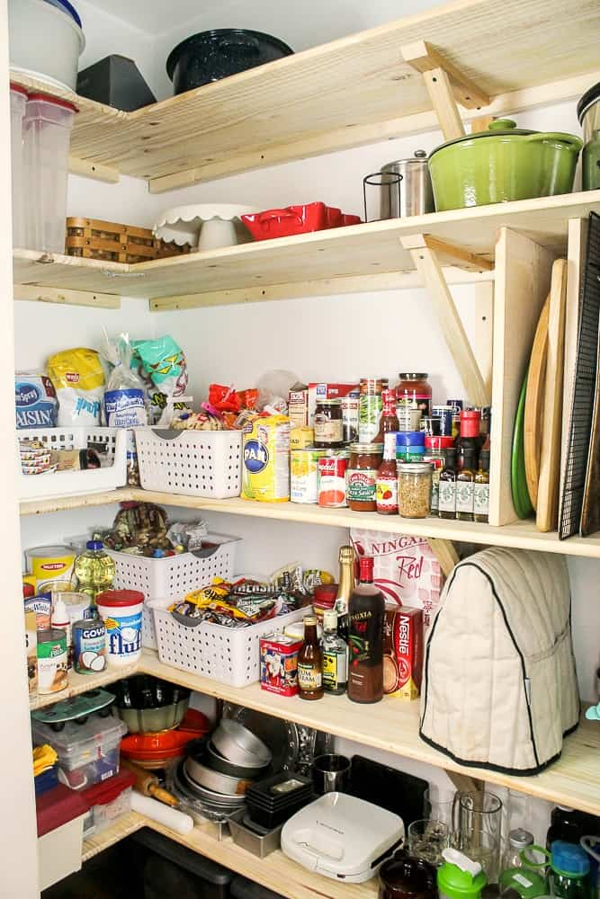DIY kitchen pantry remodel