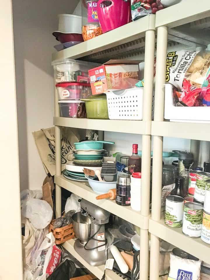 pantry before diy renovation