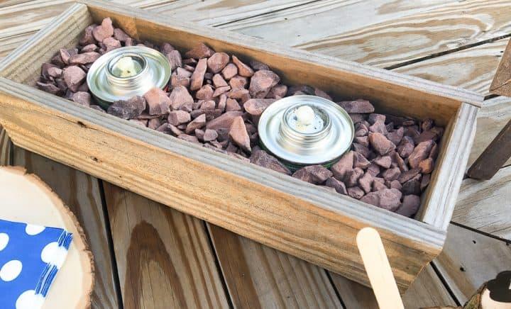 how to build a custom s'mores bar box
