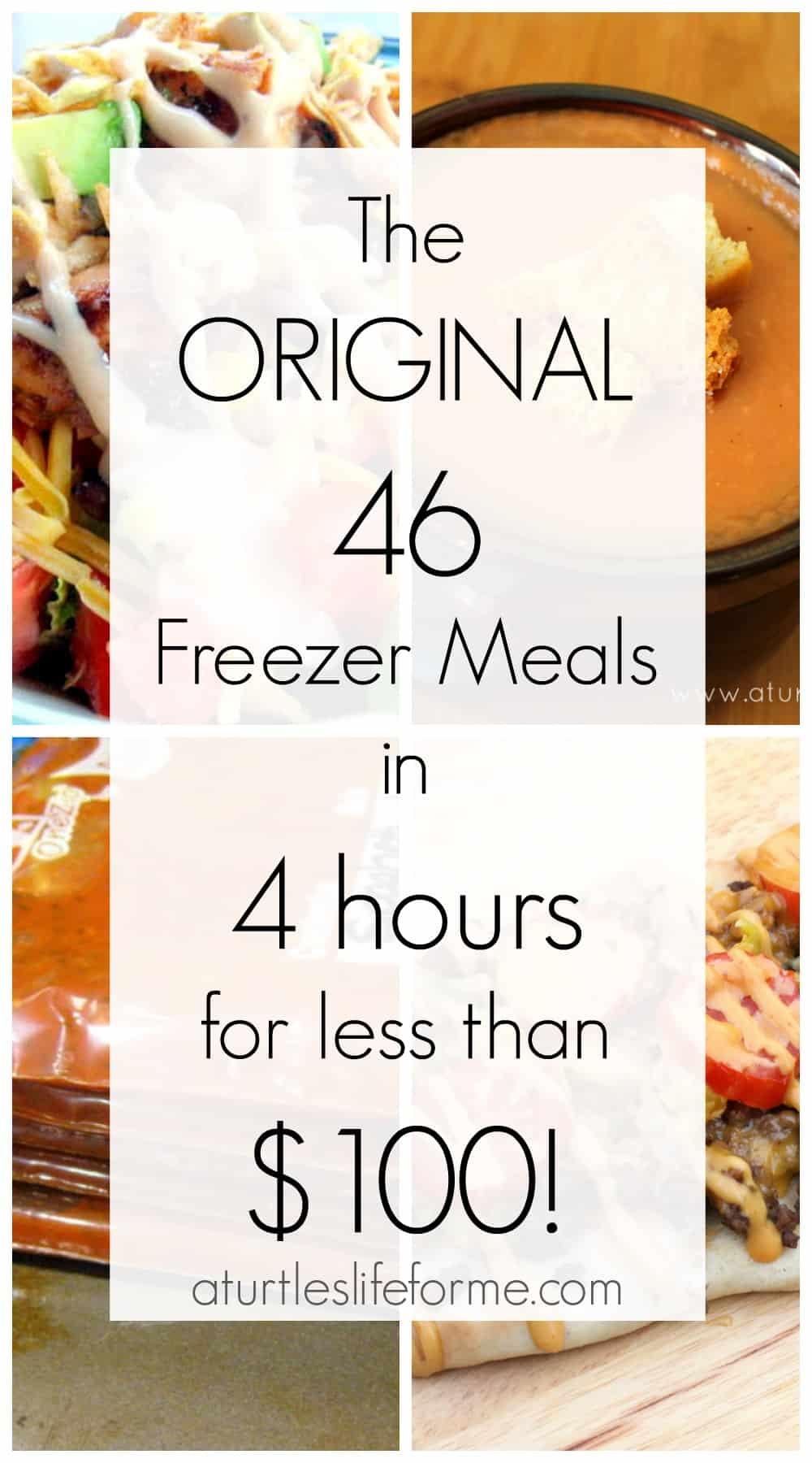 The original freezer meal planon a budget!