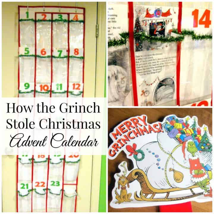 Grinch Story Advent Calendar
