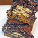Triple Layered Brownies