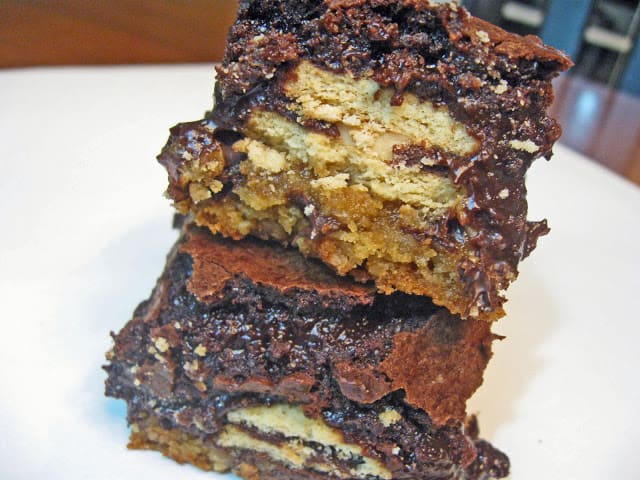 Triple Layered Brownies (Aka Slutty Brownies)