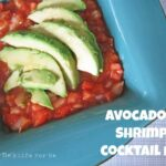 Avocado and Shrimp Cocktail Dip