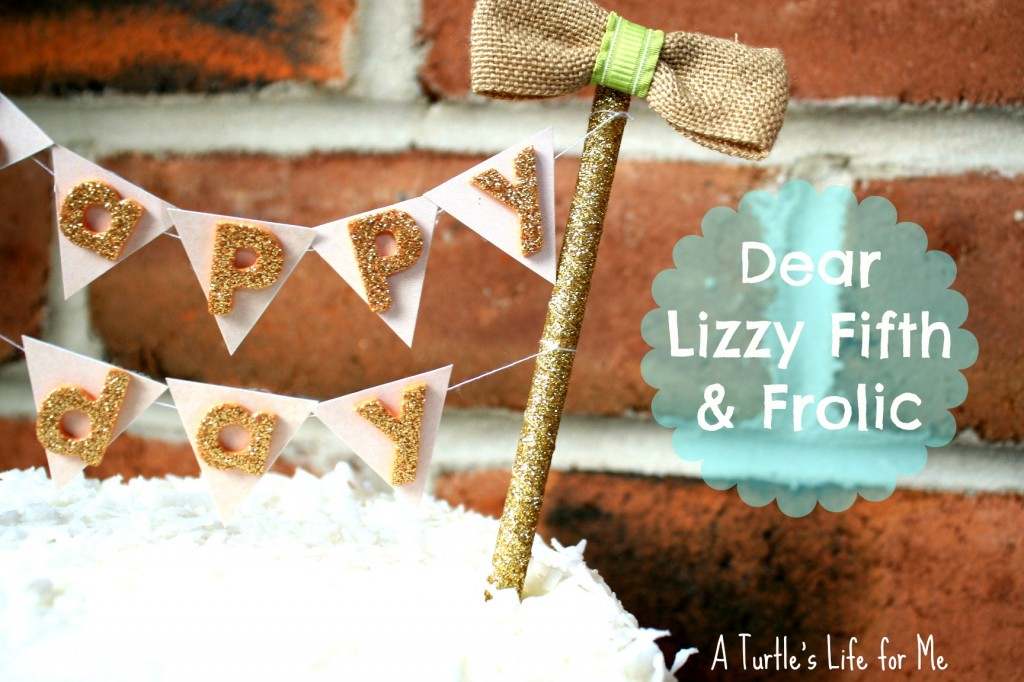 cake banner bunting pennant fifth & frolic