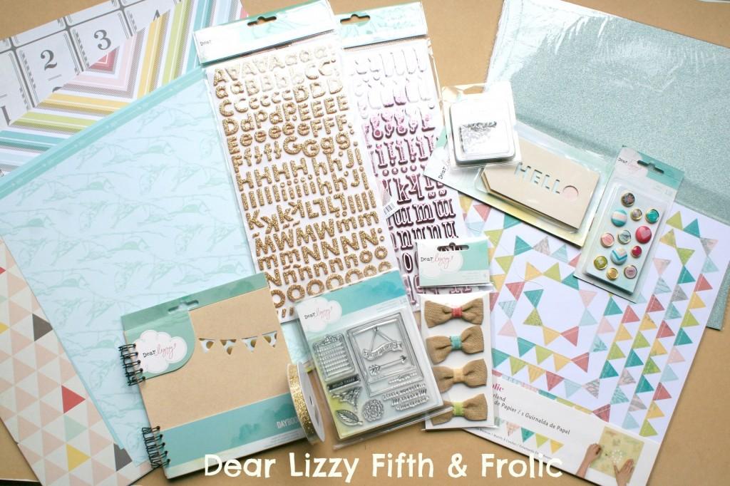 dear lizzy fifth & Frolic line