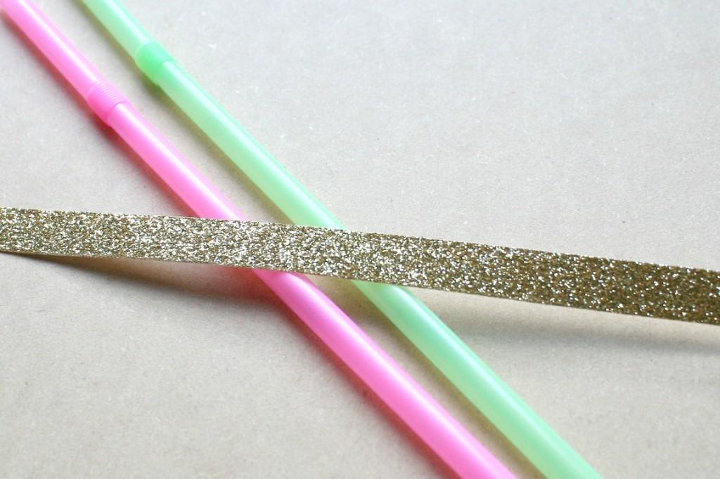 dear lizzy fifth & frolic glitter tape cake bunting