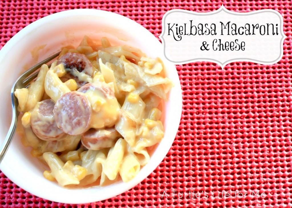 kielbasa recipe macaroni cheese