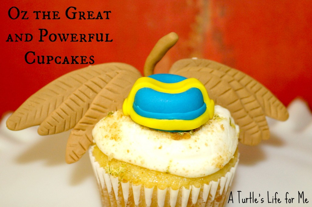 oz great powerful cupcake finley