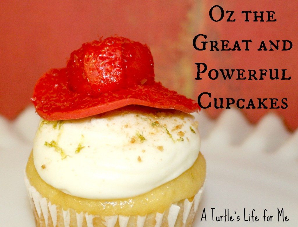 oz great powerful cupcake witch hat