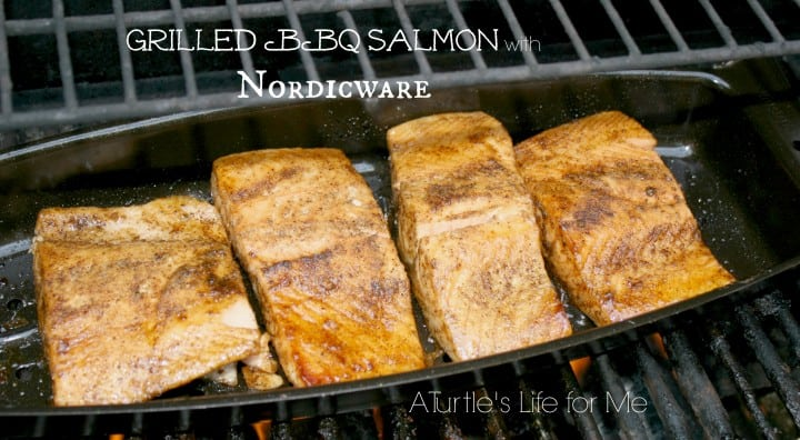 grilled bbq salmon nordicware