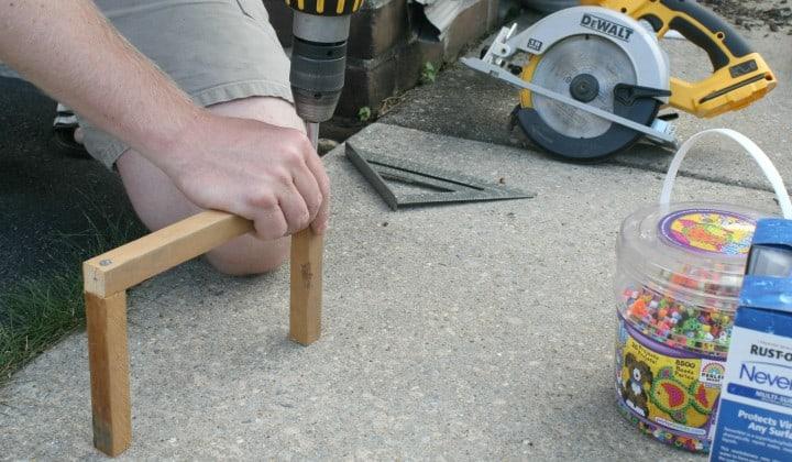 target wood frame