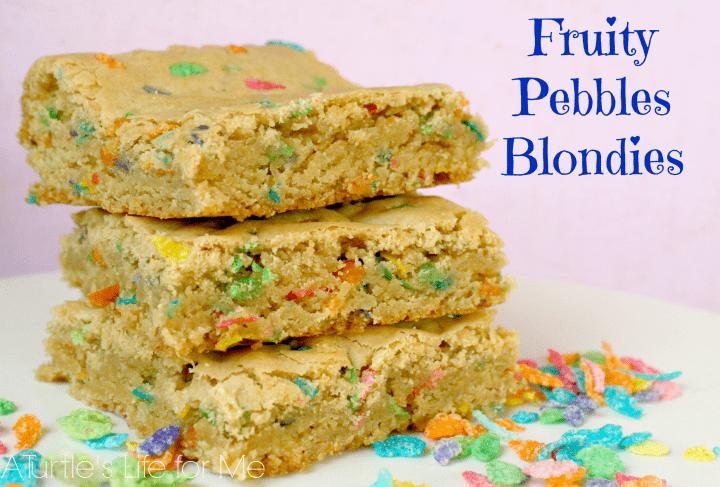 fruity pebbles recipe blondies