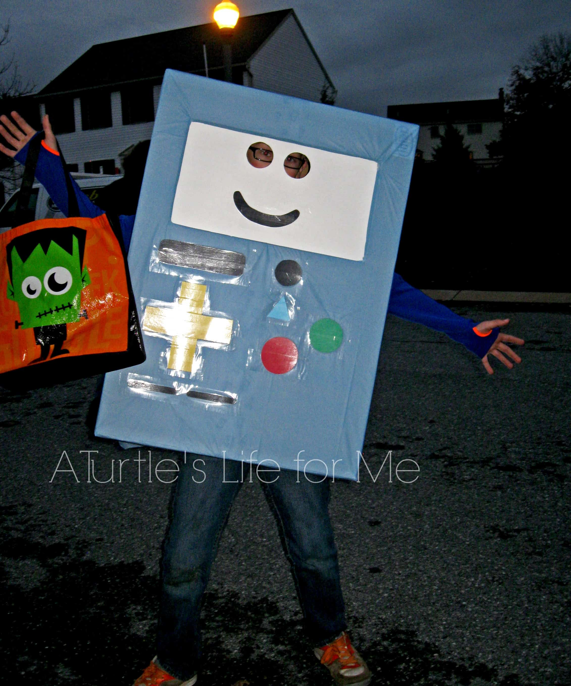 beemo adventure time halloween costume 1 & DIY Halloween Costumes for the Whole Family - A Turtleu0027s Life for Me