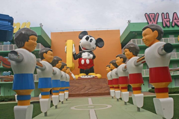 pop century disney mickey mouse