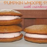 Pumpkin Whoopie Pies with Cranberry Filling