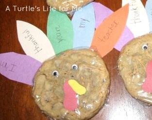 turkey cookie gifts teachers