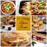 15 Turkey Leftover Recips!