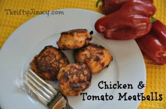 Chicken Tomato Meatballs