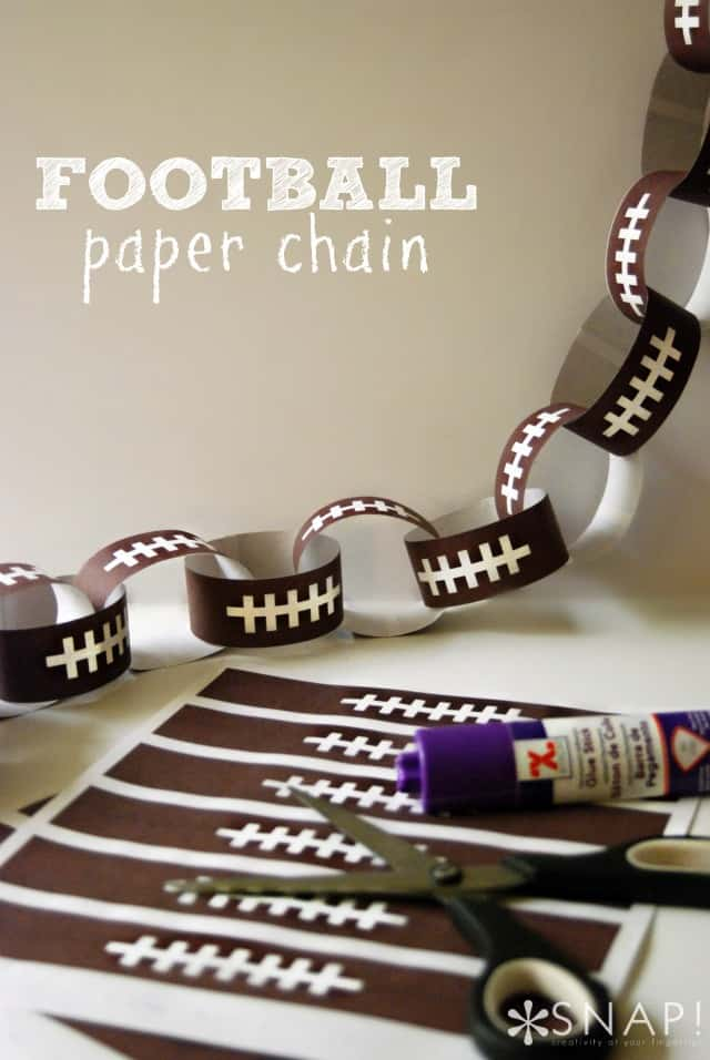 Football-Paper-Chain