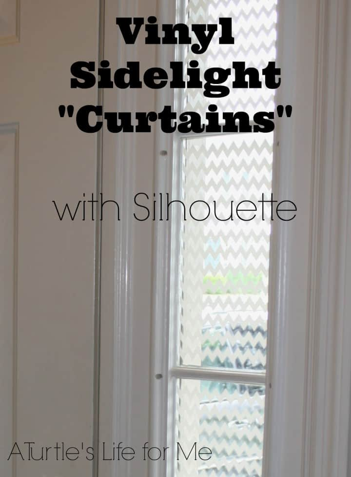 after front door vinyl curtains sidelight