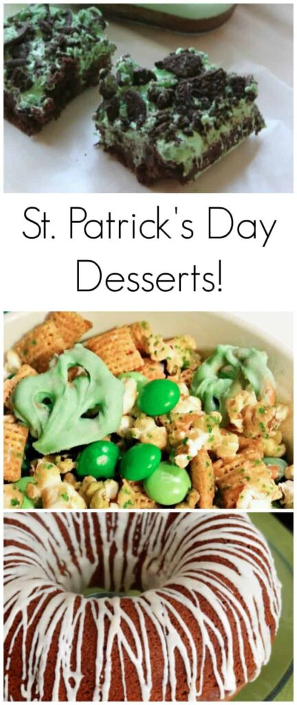 Delicious St. Patrick's Day desserts that your whole family will love!