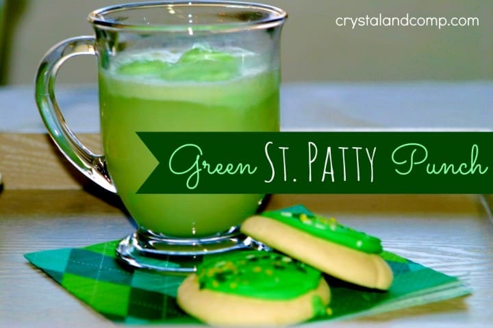 Green St Patty Punch