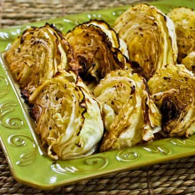 Roasted Cabbage W Lemon