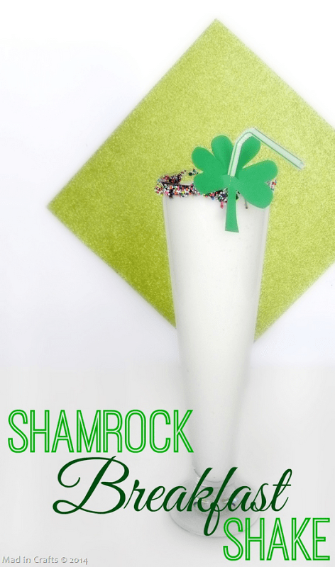 Shamrock Breakfast Shake