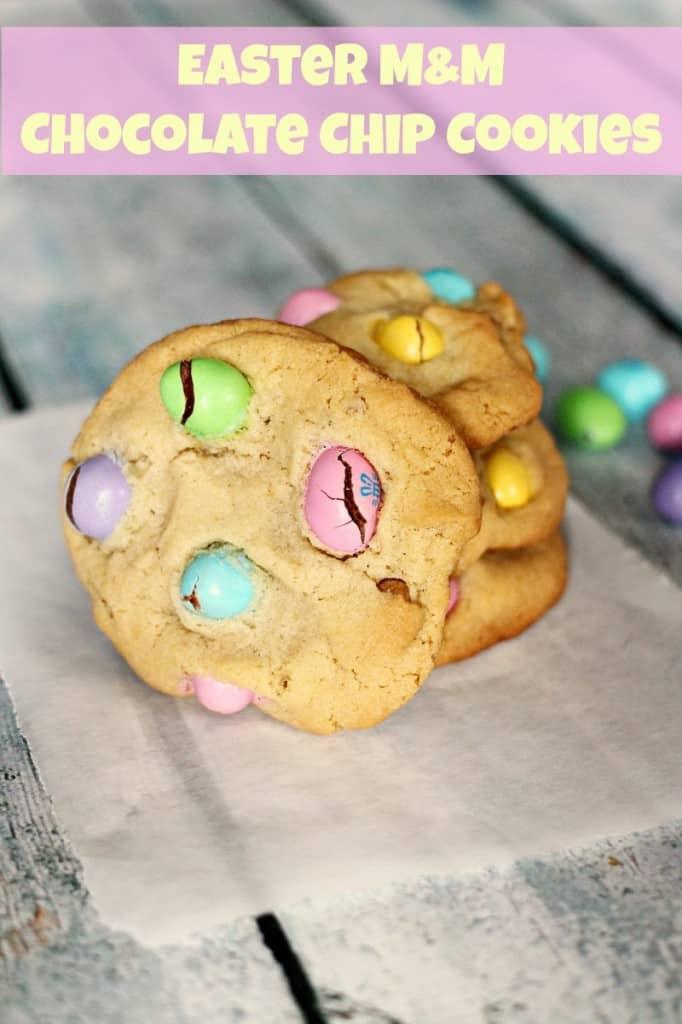 Easter MM Cookies
