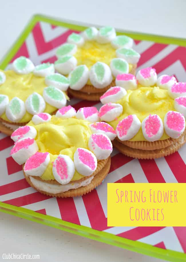 Spring Flower Cookies