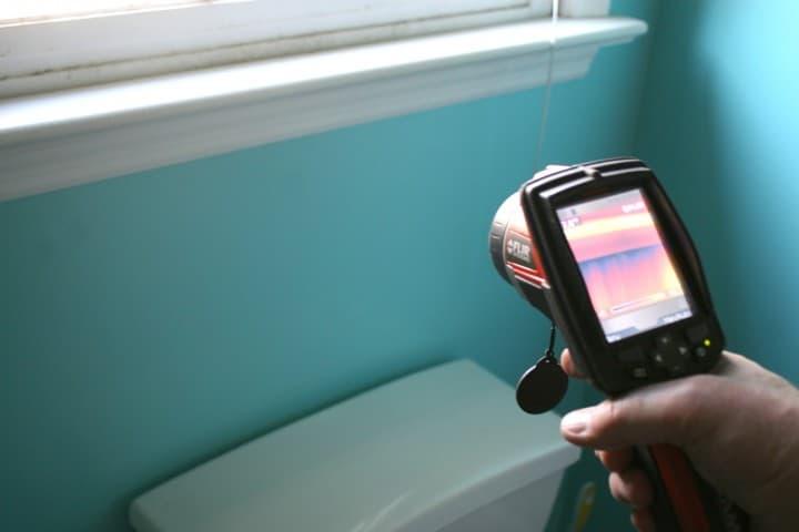 energy audit thermal imaging