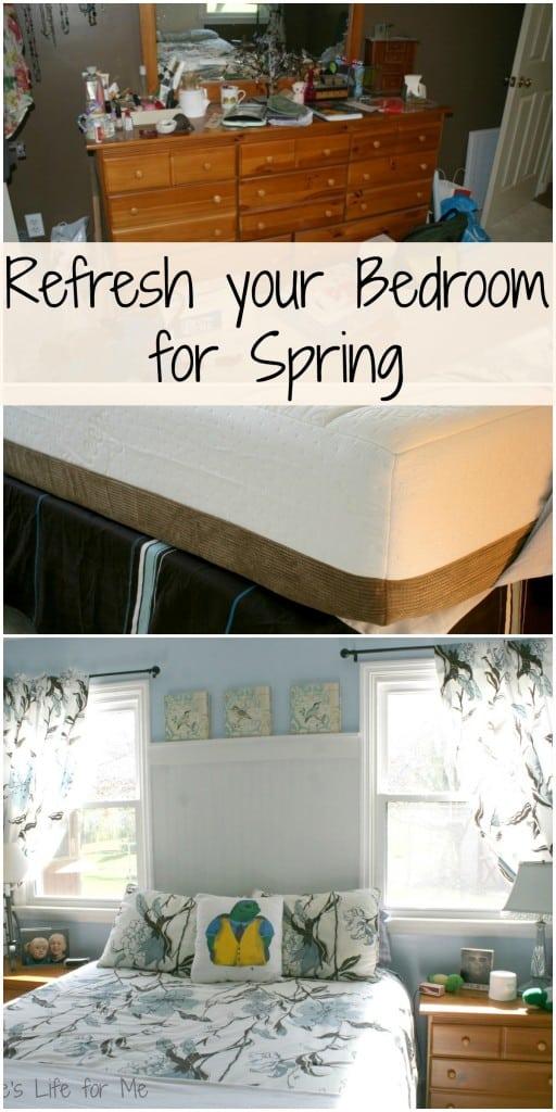 bedroom makeover natures sleep