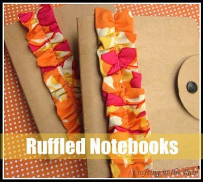 Ruffled Notebook