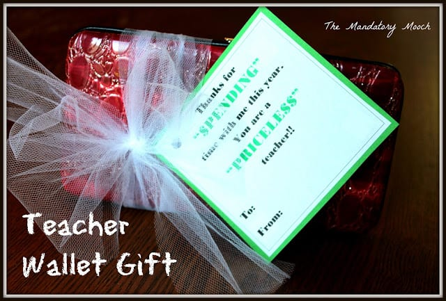 Teacher Wallet Gift