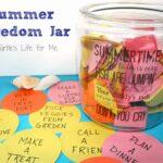 Summer Boredom Jar