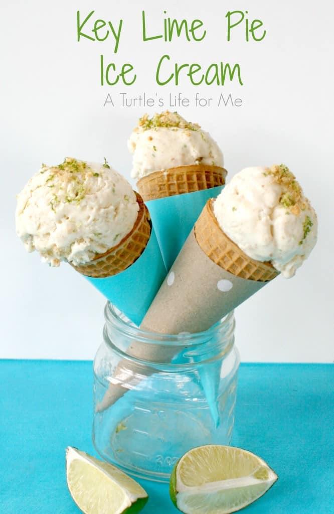 nature's sleep pillow key lime pie ice cream cones