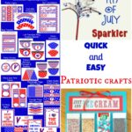 Quick and Easy Patriotic Crafts for Kids!